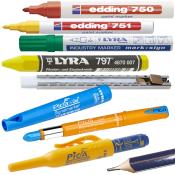Markere og skriveredskaber